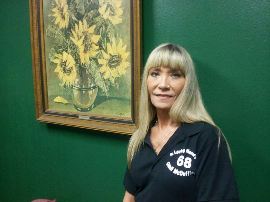 """Liberty County Sheriff's """"Employee of the Month"""" for September is fifteen year veteran employee, Bonnie Bishop who is the Commissary Clerk for the jail division of the Sheriff's office."""