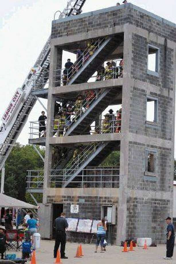 League City's training tower will be used for the stair climb event. Photo: Submitted Photo By LaRenda Goudie