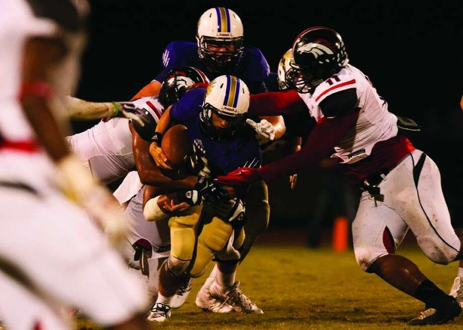 The Westfield defense held Montgomery to 61 yards on 29 carries.