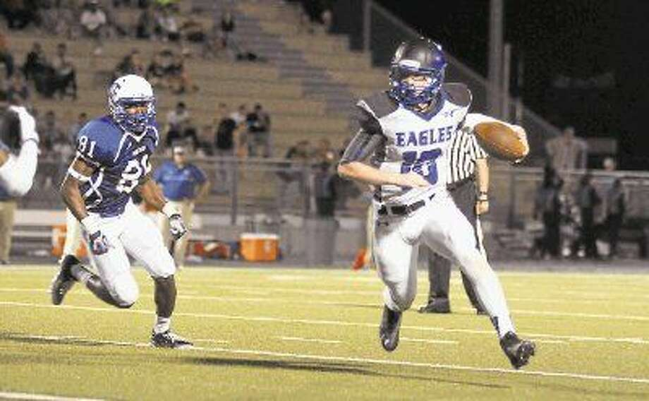 New Caney quarterback Timmy Ware was named District 21-5A Newcomer of the Year.