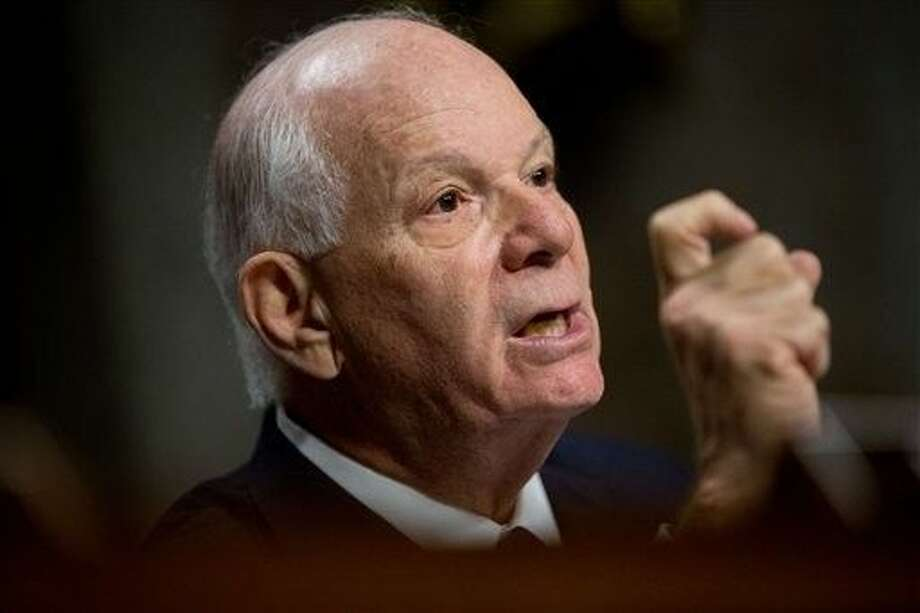 Ranking Member Sen. Ben Cardin, D-Md., the top Democrat on the Foreign Relations Committee, has announced he opposes the nuclear deal with Iran. Photo: Andrew Harnik