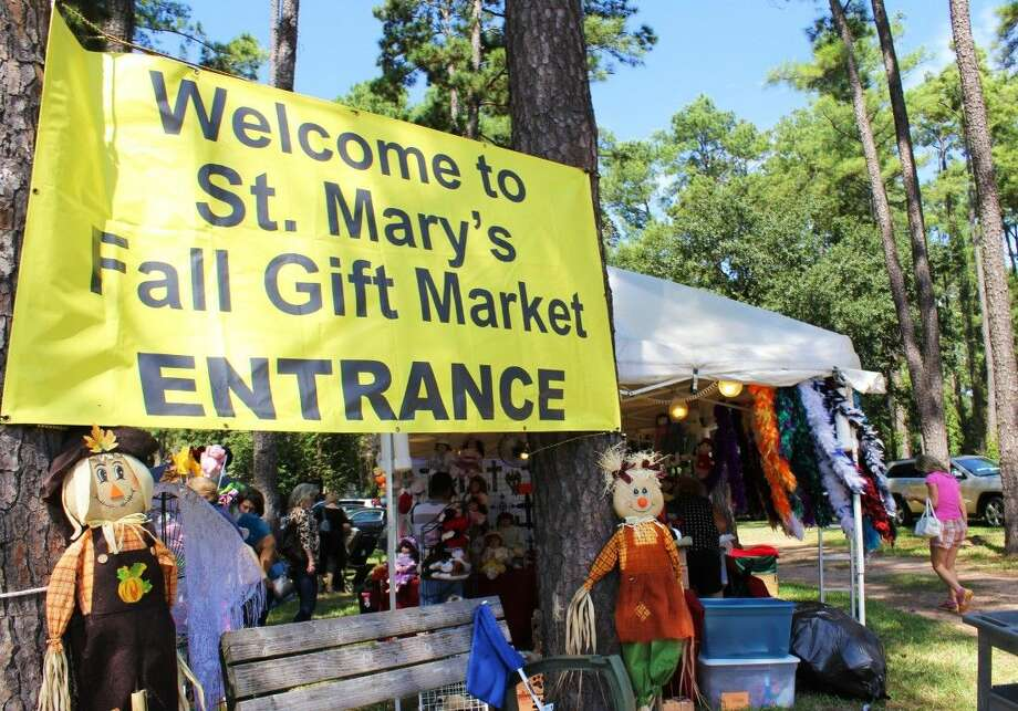 St. Mary's Fall Gift Market took place from 9 a.m. to 4 p.m. Sept. 26 to Sept. 28 at St. Mary's Episcopal Church located at the corner of Louetta Road and North Eldridge Parkway. Photo: Minza Khan