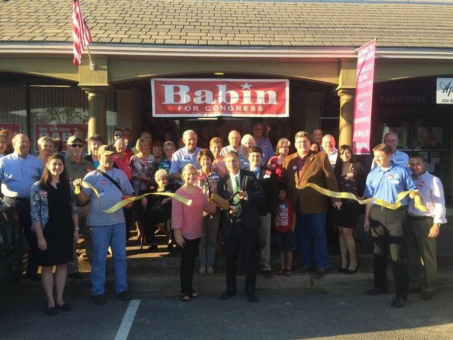 The newly opened Babin for Congress campaign headquarters is located at 206 West Bluff in Woodville. Photo: Submitted