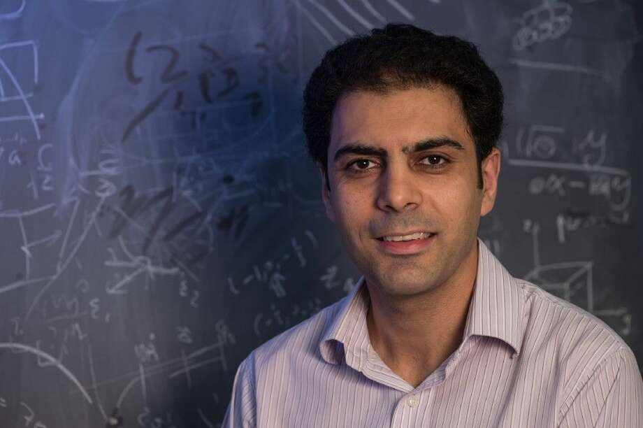 Rice materials scientist Rouzbeh Shahsavari said the team created what it considers a game-changing strategy for an industry that often operates under the radar but is still the third-largest source of carbon dioxide released to the atmosphere. Photo: Jeff Fitlow