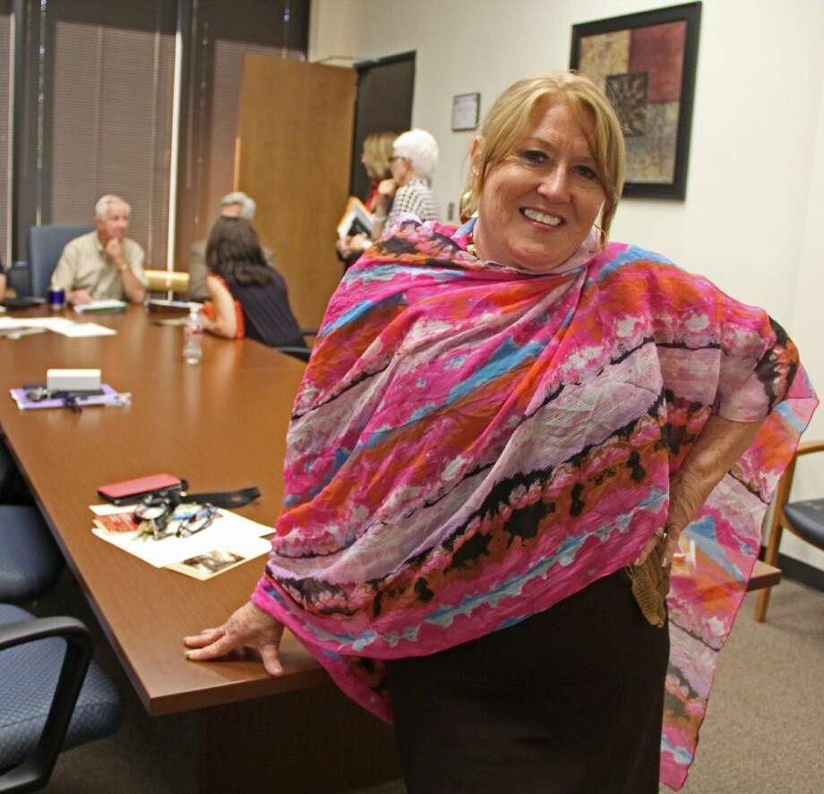 "Three-time breast cancer survivor Joy Weiner is an inspiration to most people who know her, including Pearland Mayor Tom Reid who appointed her to serve on the Pearland Alliance for Arts and Culture. ""Joy is determined to beat cancer and it is her sense of hope that serves as an inspiration to others battling cancer,"" Mayor Reid said, who is also a cancer survivor. ""She's truly fearless in her battle against this disease. I have great admiration for her."" Photo: Kristi Nix"