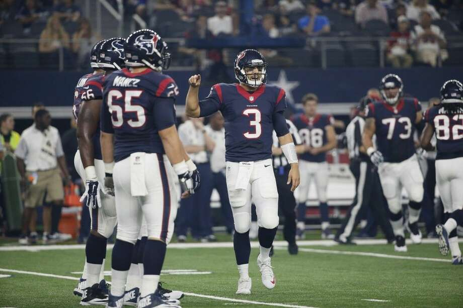 Houston Texans quarterback Tom Savage has been placed on injured reserve.