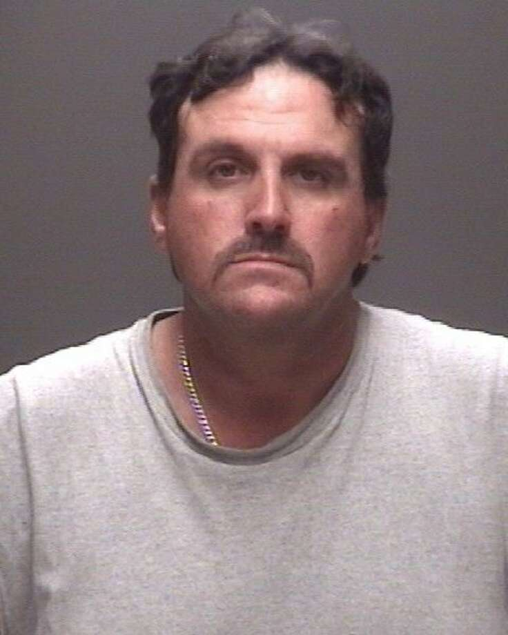 Neil Wayne Braddock, 44, of Santa Fe was charged with Deadly Conduct. Photo: Courtesy GCSO