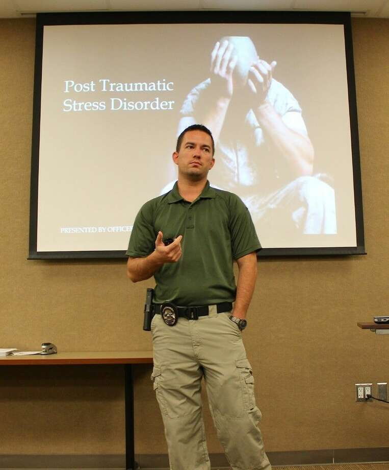 Officer Jeff Evans talks about Post Traumatic Stress Disorder and how it can affect law enforcement, veterans and citizens