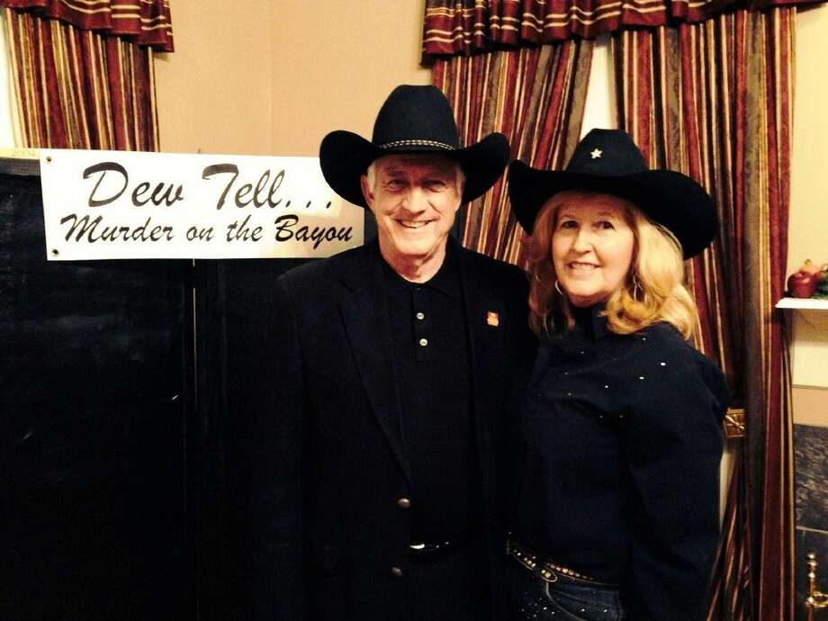 """Jo and Ivan Butterfield will perform their acclaimed Dew House Drama (involving the shooting of Frank Dew), """"Dew Tell… Murder on the Bayou"""" at the third annual Ghost Toast. Photo: Submitted"""