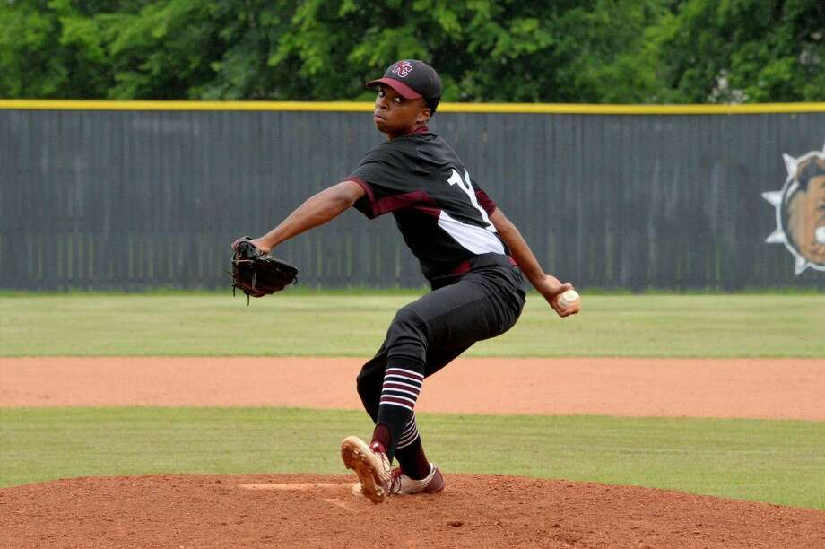 Jeremiah McCollum pitched four innings without an earned run in game two as Kempner swept its Region III-6A area playoff series against La Porte, 3-1 and 3-2. View this and additional photos at HCNPics.com. Photo: Craig Moseley