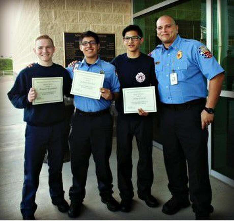 The New Caney Independent School District School Board recognized NCISD Fire Academy cadets for their achievements in this year 2016 Skills USA Competition and their monthly meeting Monday, May 16, 2016.