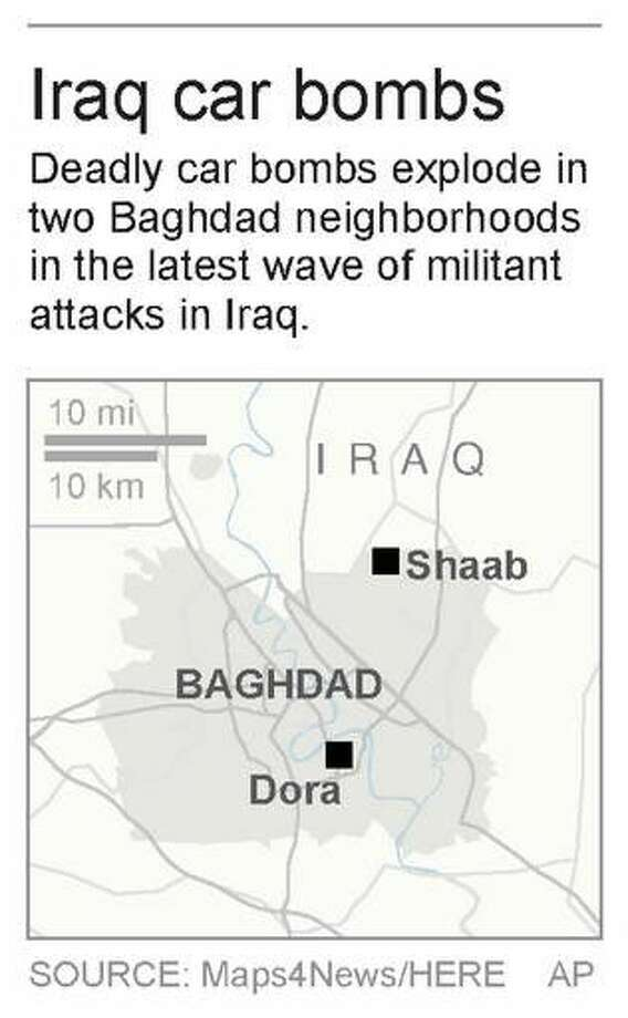 Wave of bombings in Baghdad kill 69