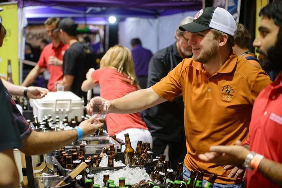 Join fellow craft beer lovers and supporters as they gather Labor Day weekend to celebrate and sample more than 400 specialty and hard-to-find brews. This foamtastic celebration takes place at Moody Gardens Friday, Sept. 4, through Sunday, Sept. 6. Photo: Photographer