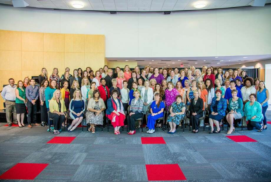 More than 100 people attended the formational meeting for the American Business Women's Assocation's Women Empowering Women Express Network at Lone Star College-University Park on May 4. Photo: Submitted Photo