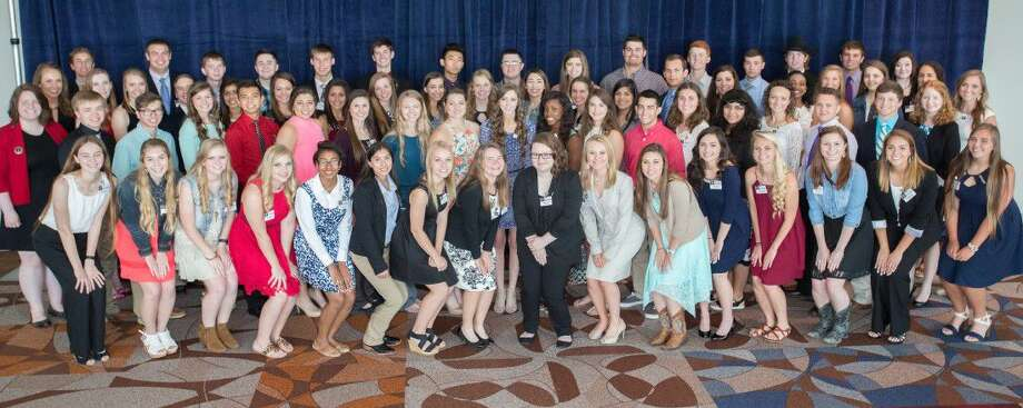 Houston Livestock Show and Rodeo awarded scholarships totaling more than $1.4 million to 78 graduates from across the state of Texas. Each student receives a four-year $18,000 scholarship.