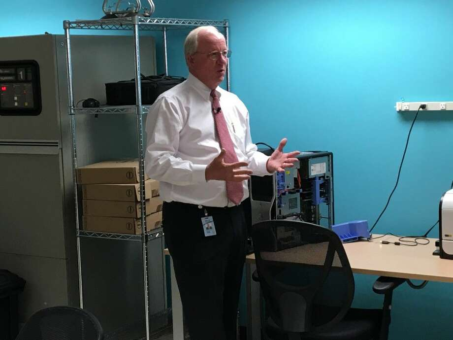 Harris County Tax Assessor-Collector Mike Sullivan is reforming the tax office including a state-of-the-art mail room that handles an average of 10,000 pieces of mail per day.