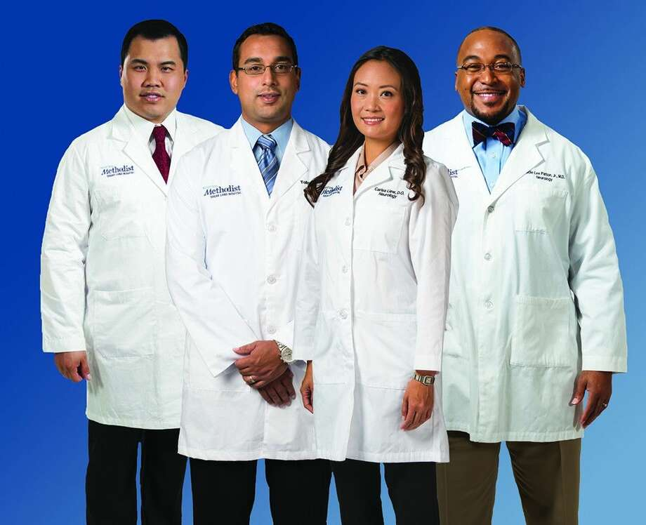 Larry Tran, M.D., Toby Yaltho, M.D., Carisa Liew, D.O. and Eddie Patton Jr., M.D. Photo: Submitted