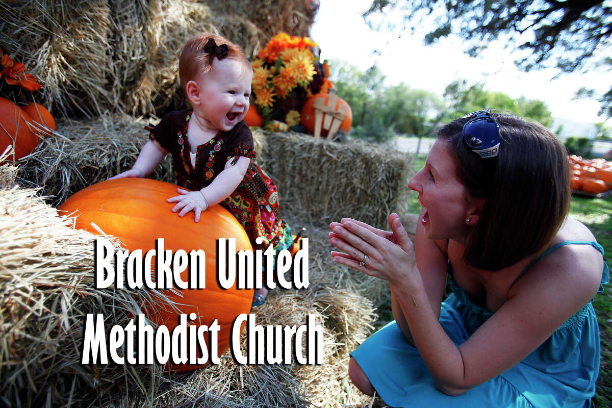 THE FOLLOWING ARE PUMPKIN PATCHES TO VISIT IN SAN ANTONIO Bracken United Methodist Pumpkin Patch: 20377 FM 2252 Opens Sept. 25 until Oct. 31 from 9 a.m. to sundown.