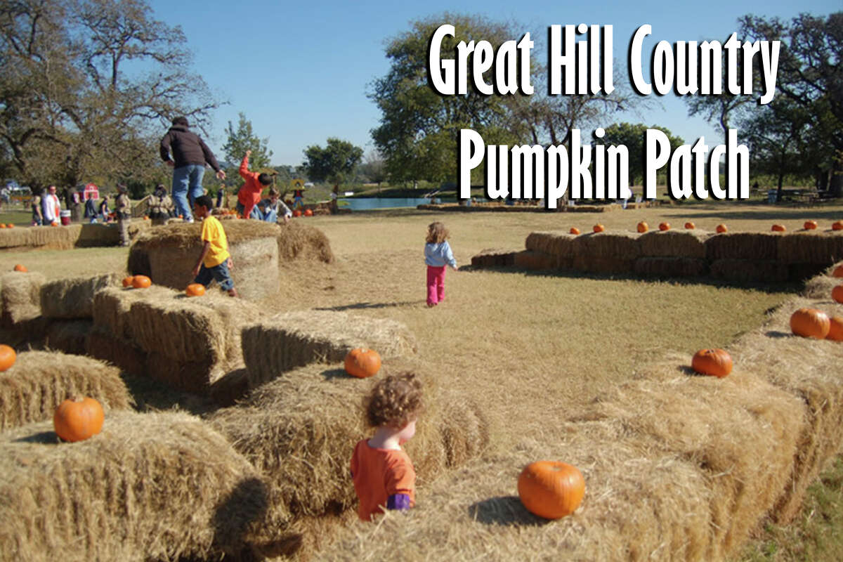 Great Hill Country Pumpkin Patch at Love Creek Orchards: 13558 State Hwy. 16 North, Medina, Texas 78055. Opens Oct. 5.