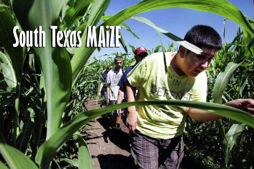 South Texas MAiZE: 911 U.S. Hwy. 90 East, Hondo, Texas, 78861. Fall Festival is Sept. 21.