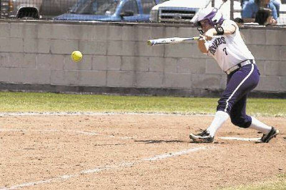 Dayton Lady Broncos freshman third baser Ally McKinney has been named the 2016 Newcomer of the Year by the coaches of District 21-5A. She got 33 hits this season, including 7 doubles and a triple. She scored 24 runs, recorded 18 RBIs, and had a fielding percentage of .933. Photo: Casey Stinnett