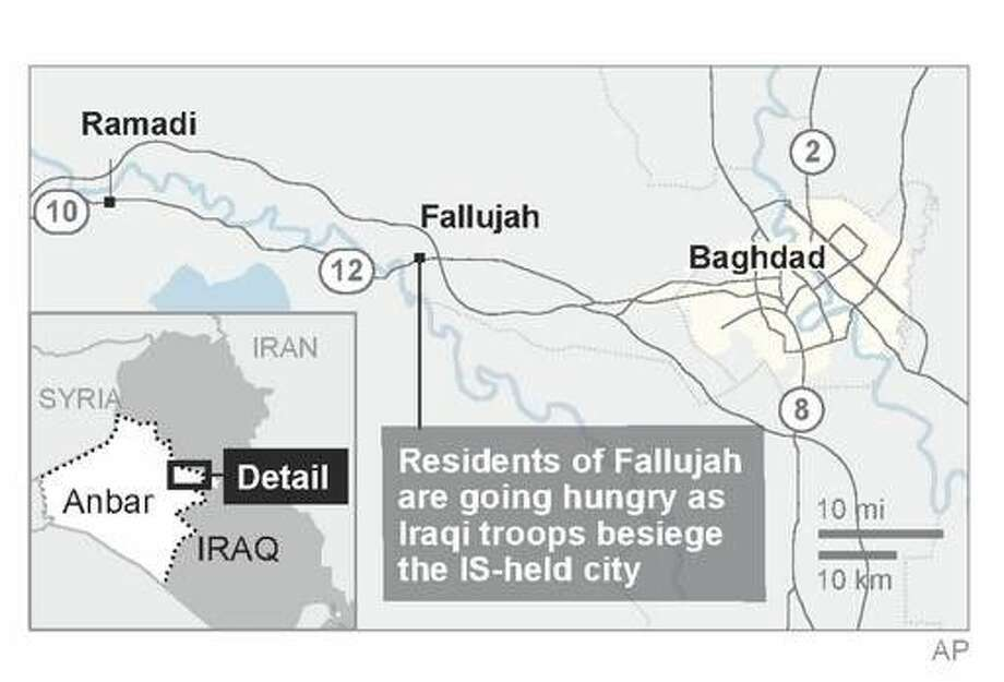 Iraq launches operation to retake IS-held city of Fallujah