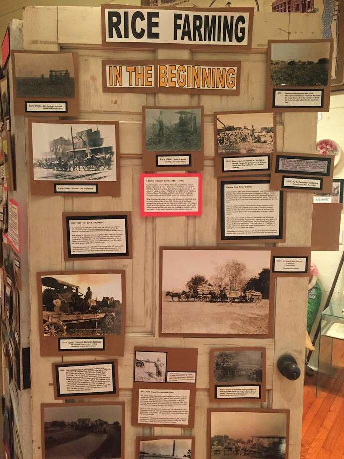 The Old School Museum in Dayton, Texas now has an exhibit looking back at the beginnings of rice farming in the Dayton area. The museum is open on Saturdays from 10 a.m. to 2 p.m. Photo: Casey Stinnett