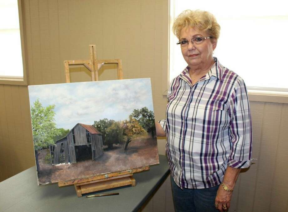 Precinct 4 Art Instructor Anne Vandagriff teaches watercolor and oil painting every Monday at Big Stone Lodge. Photo: Submitted Photo
