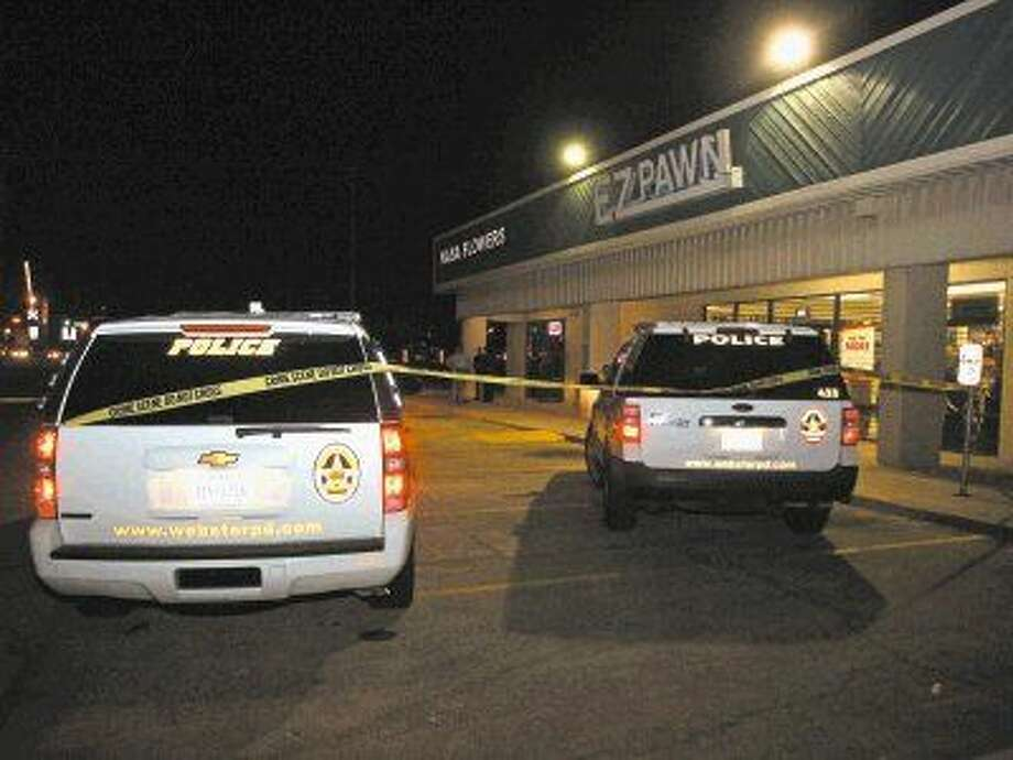 Webster Police were called to investigate a shooting at the NASA Flower shop on the 200 block of NASA Road 1 on June 15, 2013. On Friday, Sept. 9, A Harris County Jury found Mark Allen Dickey guilty of murdering his mother in connection with the shooting. Brenda Dickey was 68 years old. Photo: Kar B Hlava