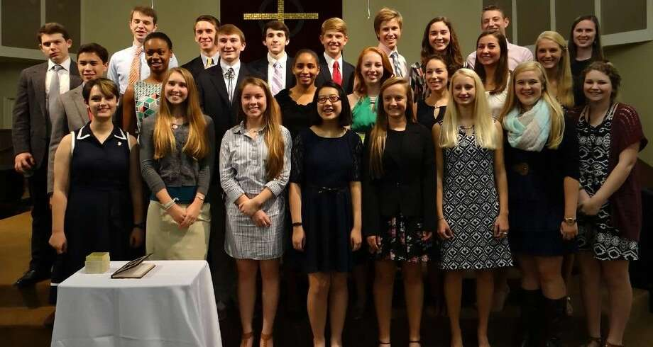 Providence Classical School held its National Honor Society induction on Sept. 19.