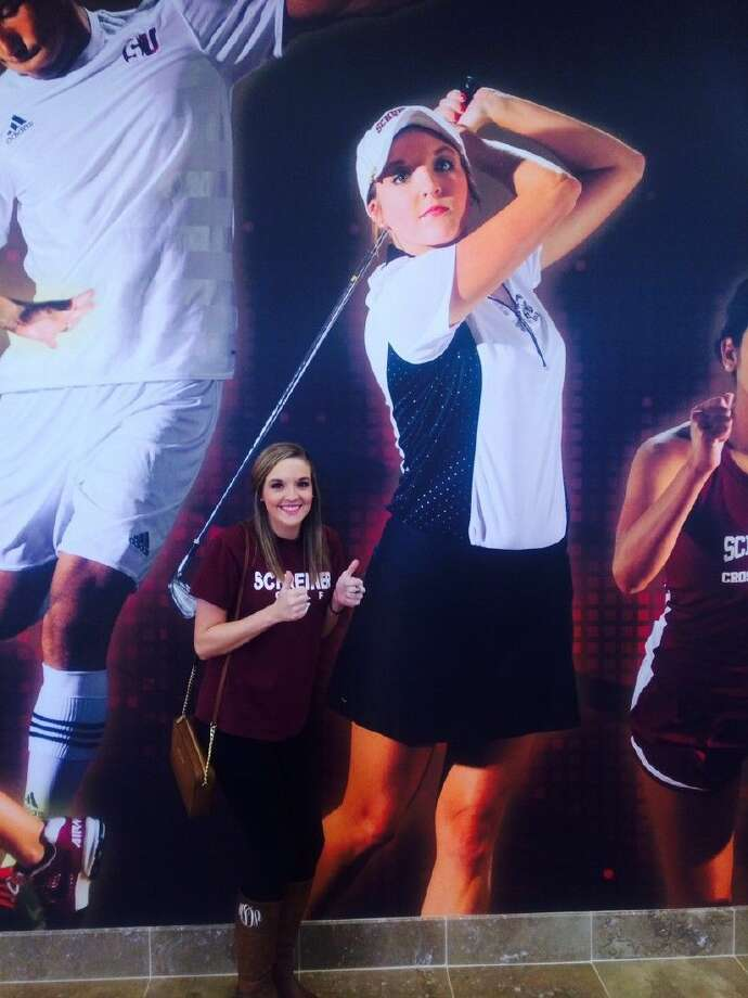 Former Clear Creek golfer Melanie Dean has earned two impressive honors from Schreiner University. Photo: SUBMITTED PHOTO