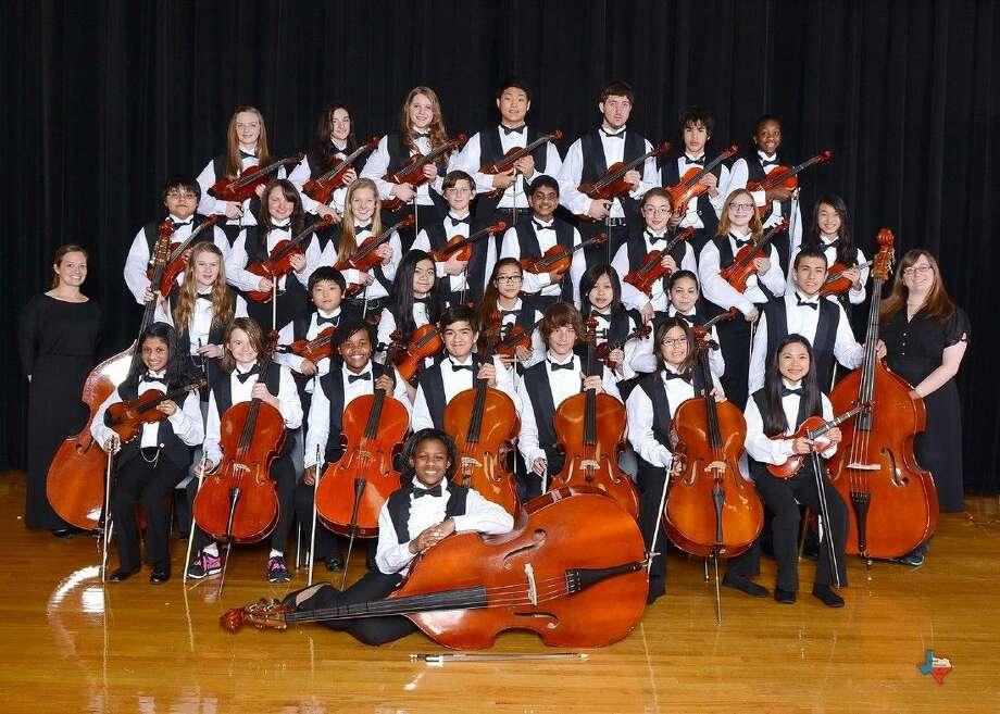 """The Aragon Middle School chamber orchestra, directed by Sarah Lopes, was awarded as a commended winner in the Foundation for Music Education """"Mark of Excellence"""" awards. Photo: Submitted Photo"""