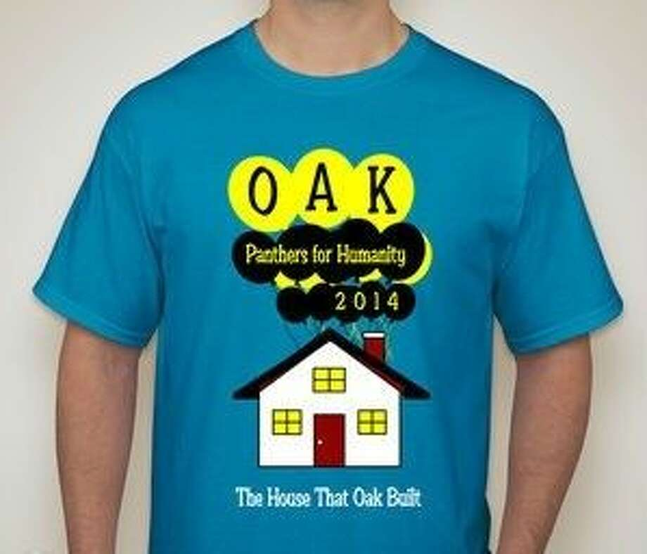 "This is an example of the Klein Oak fall charity ""The House that Oak Built"" T-shirt. Photo: Submitted Photo"