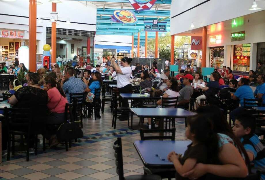 The food court at Pasadena Town Square.
