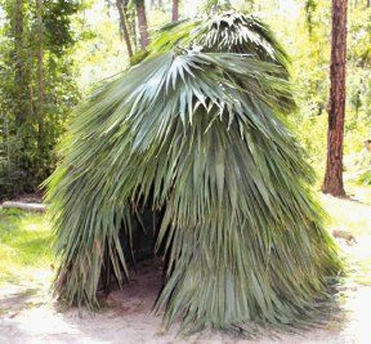 Akokisa sweat lodge, used for both health and religious purposes.