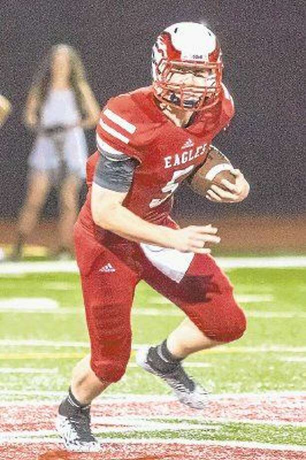 St. Thomas quarterback Michael Keating was named the Built Ford Tough Texas Private School Player of the Week after the Eagles' thrilling 42-35 victory over archrival Strake Jesuit at NRG Stadium.