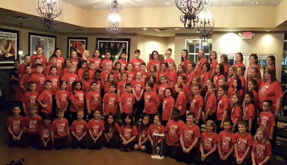 """On Thursday, May 19, the Piney Woods Elementary """"Treblemakers"""" choir performed at the annual Pride of Texas Music Festival held at iT'Z in Willowbrook."""