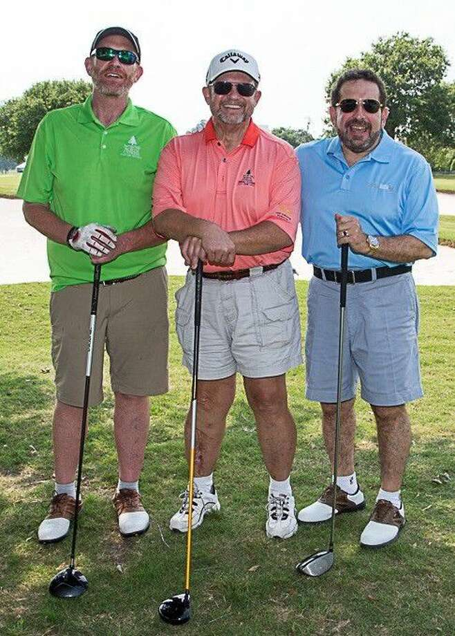 Pictured from left, Chris Stewart, Director of Perioperative Services, Kirk Jones, Director of Patient Access, and Dr. Robert A. Behar, CEO and Chairman of the Board enjoyed hosting their 9th annual North Cypress Medical Center Golf Tournament. Photo: Robin Janson