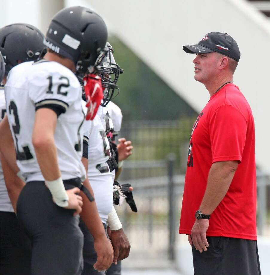 Clear Brook head football coach Mike Allison and the Wolverines try to pick up their first win of the season Friday at Baytown Sterling. Photo: KIRK SIDES