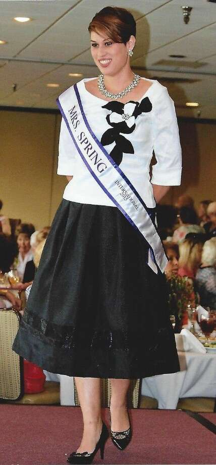 Chieri Sanders of Spring was recently chosen as Mrs. Spring International 2015. Sanders is also a volunteer for CASA (court appointed special advocate) through the Harris County Chapter Child Advocates. She will compete in the Mrs. Texas International Pagenant in March of next year in Dallas.