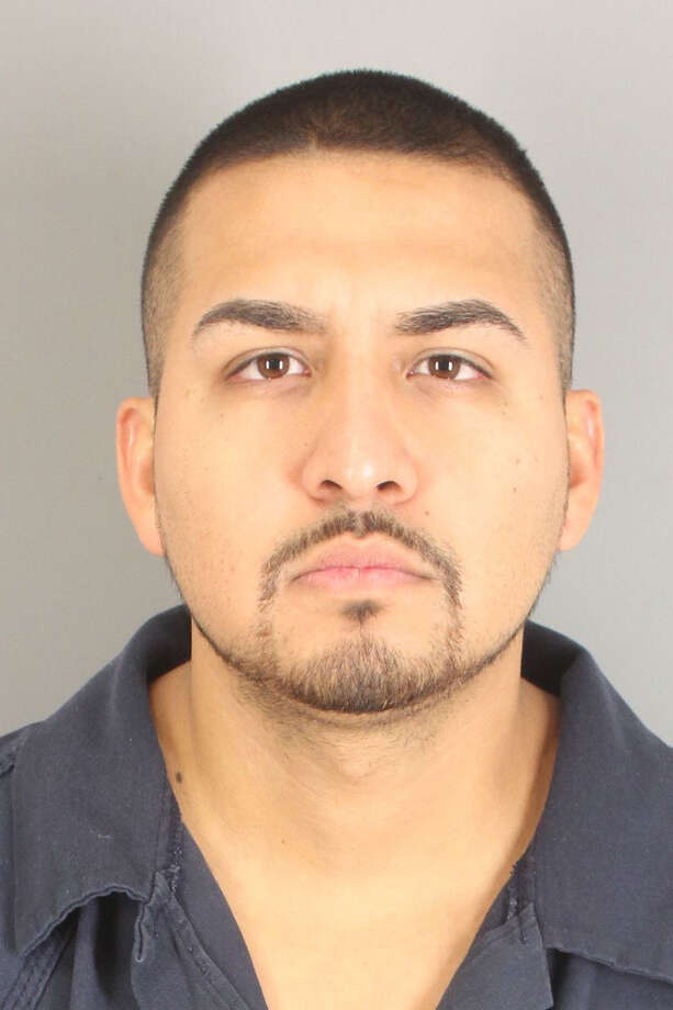 23-year-old Gustavo Corpus, of Weslaco, was arrested on Oct. 5 for possession of marijuana. Police uncovered 137 of marijuana in Corpus' truck.  He is booked into the Jefferson County Jail with bonds totalling $10,400. Photo: Jefferson Co. Sheriff's Office