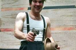 "Ramsey Marion Sweatmon plays Clyde Barrow in Performing Arts San Antonio's staging of ""Bonnie and Clyde."""