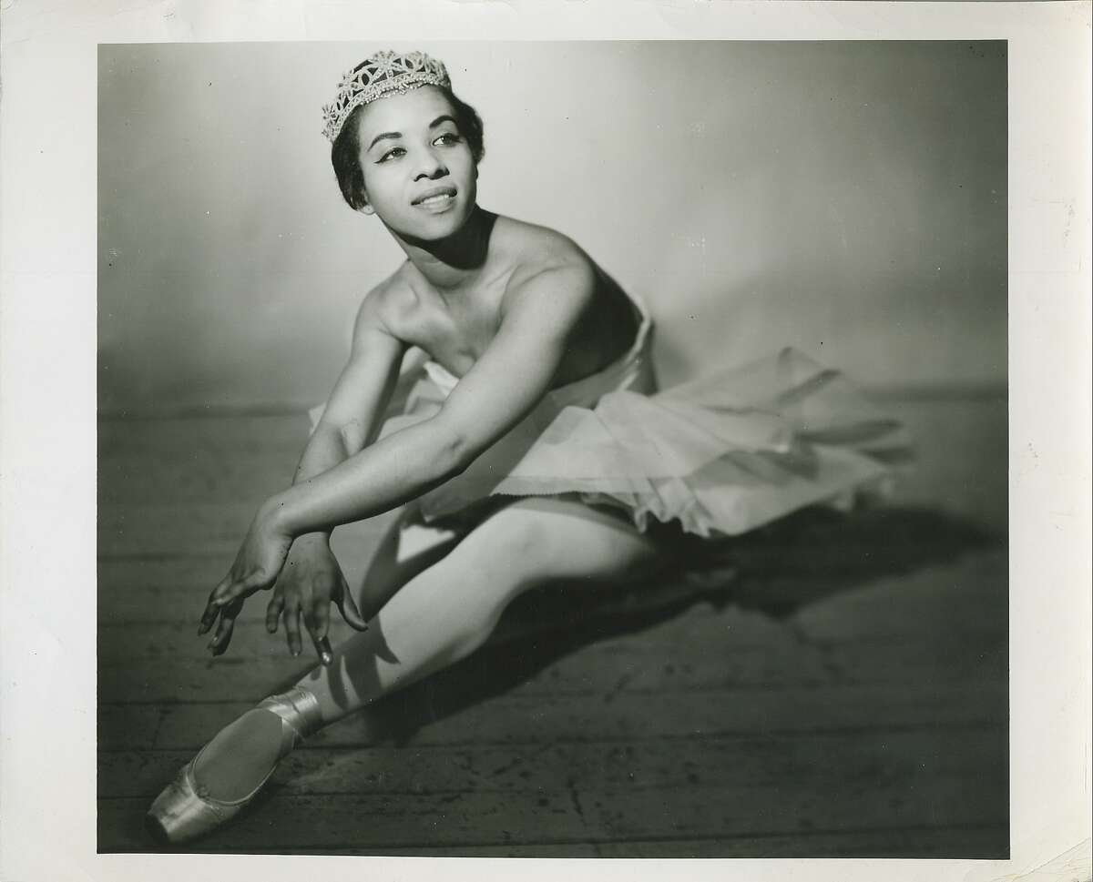 �Black Ballerina� includes the story of Delores Brown, shown here as a dancer with the New York Negro Ballet in the 1950s. Photo: GiJi, courtesy Delores Brown/Shirley Road Productions.
