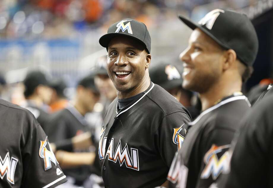 Barry Bonds lasted one season as hitting coach for the Miami Marlins. Photo: Wilfredo Lee, Associated Press