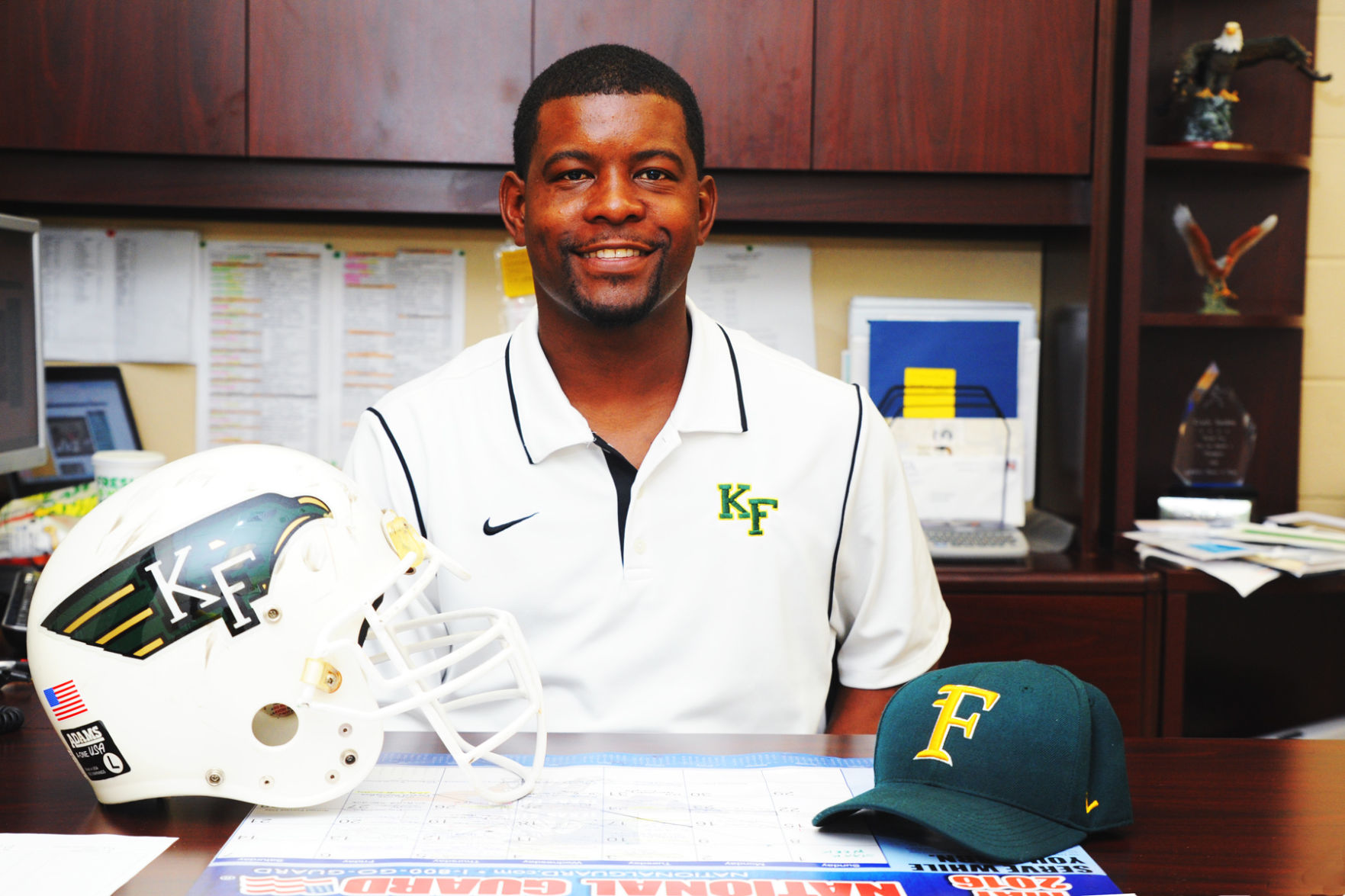 football new klein forest head coach ajani sanders intends to win houston chronicle. Black Bedroom Furniture Sets. Home Design Ideas