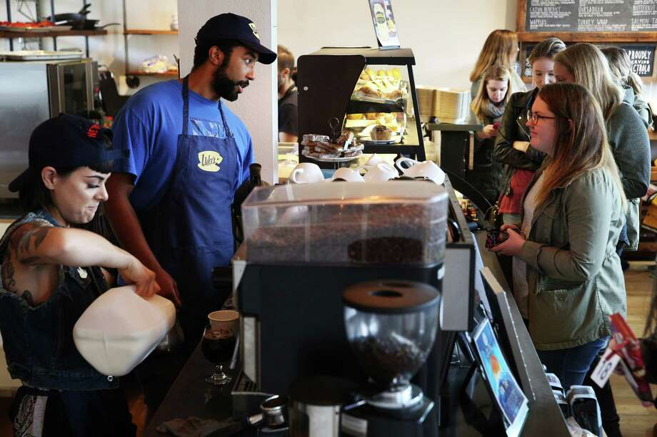 It's International Coffee Day on Friday. Check out some of Seattle's best coffee shops. Photo: GENNA MARTIN, SEATTLEPI.COM / SEATTLEPI.COM