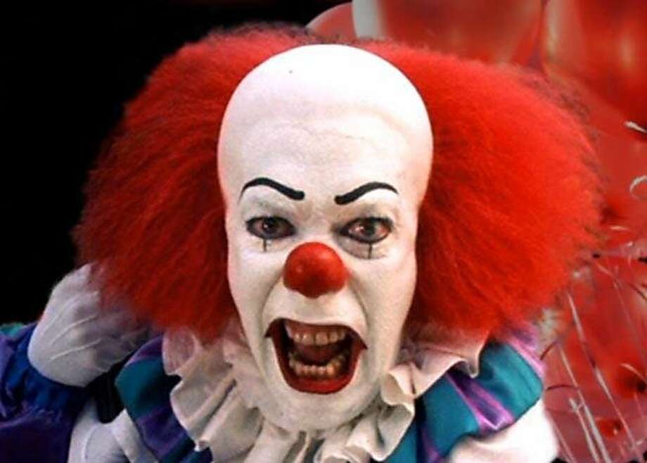 Pennywise the Dancing Clown from the miniseries It, based on the book of the same name by Stephen King. Photo: Contributed Photo