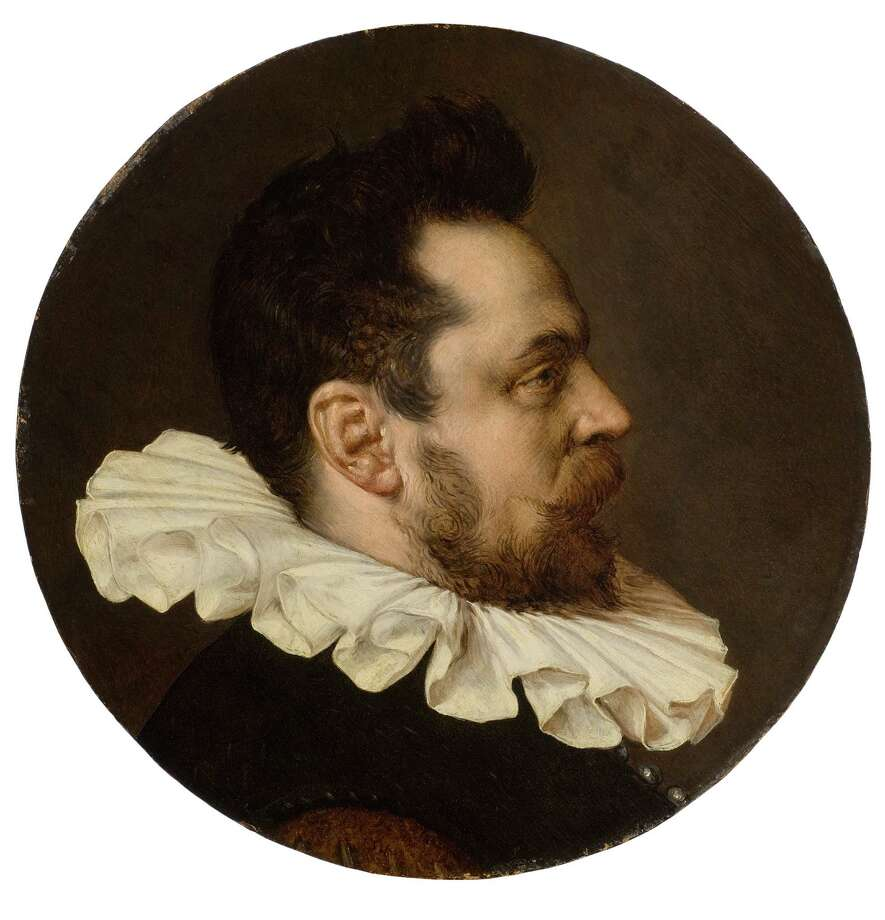 Haarlem or Amsterdam School Portrait of a gentleman, bust-length, in a white ruff, circa 1590 Oil on panel, 18 in. diameter  Bruce Museum Collection Photo: Contributed