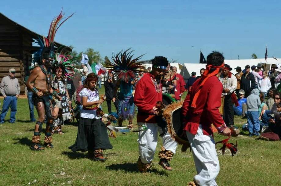 The Chicawa Aztec Dancers perform at the Texian Heritage Festival. The Festival will be held from 10 a.m. to 5 p.m. on Saturday Oct. 18 at Montgomery's Fernland Park.