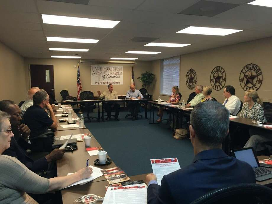 On Monday, Sept. 21, Congressman Poe hosted a Pastors' Roundtable with Houston-area religious leaders to discuss current events in the community and around the country.